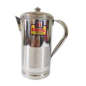 stainless steel water jug with lid 1.5 liter