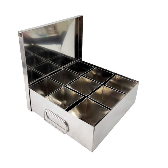 large spice box 9 compartment