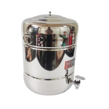 steel matka with tap