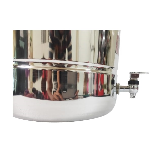 steel water dispenser with tap