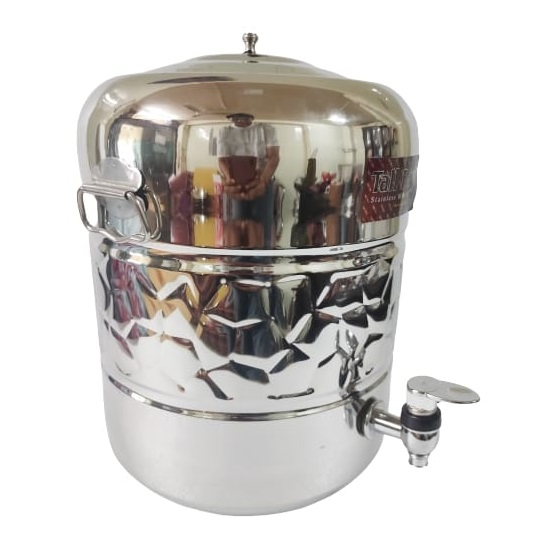 stainless steel water dispenser with tap