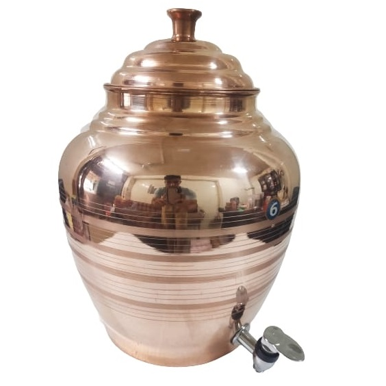 Copper Water Dispenser with Tap