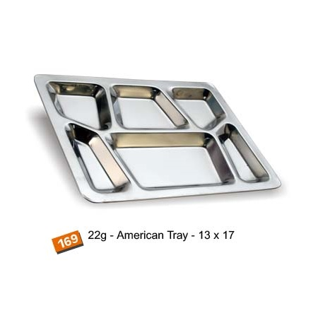 Steel American Mess Tray